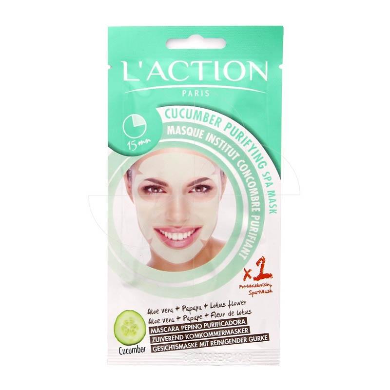 Achetez L'ACTION Masque visage détoxifiant 1 Sachet