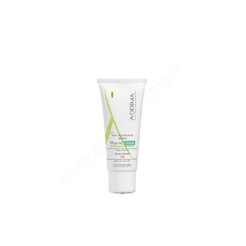 Achetez ADERMA PHYSAC GLOBAL Crème soin anti-imperfections Tube de 40ml