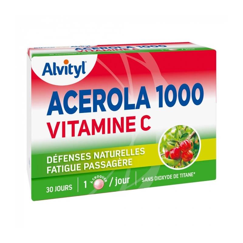 ALVITYL Acérola 1000 Comprimé à croquer Boîte de 30