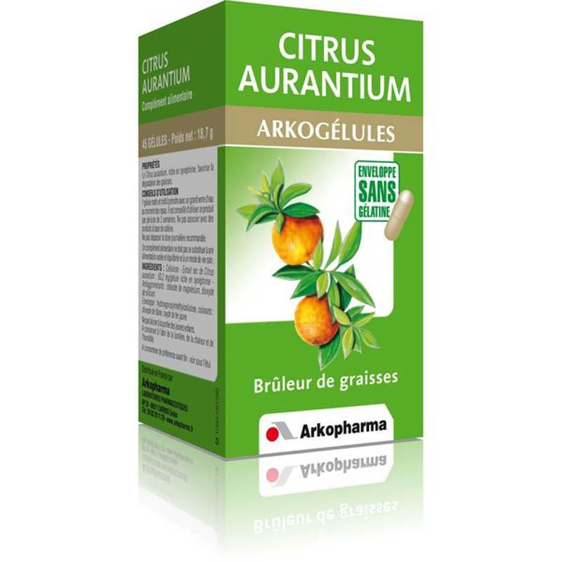 Achetez ARKOGELULES Citrus aurantium Gélule Flacon de 45