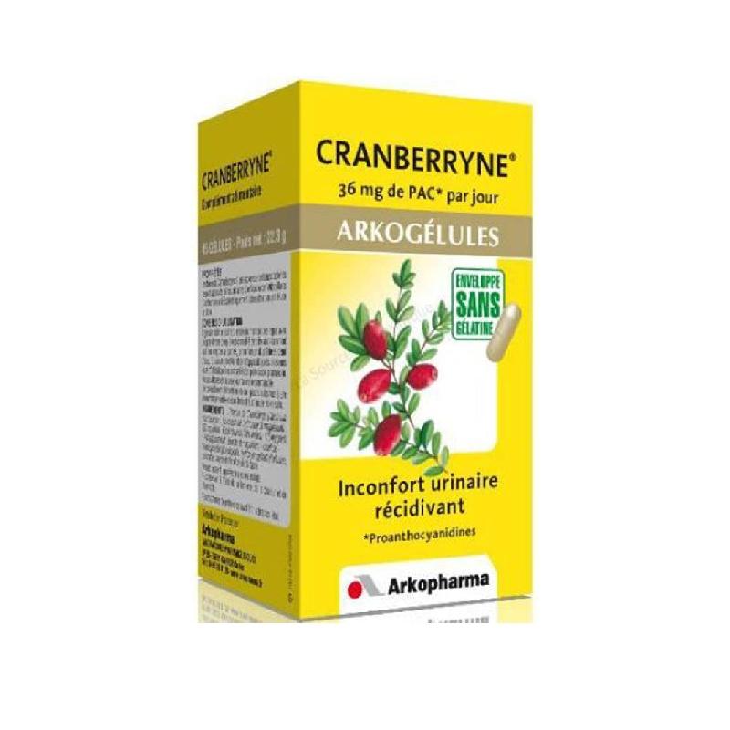 Achetez ARKOGELULES Cranberryne Gélule Flacon de 45