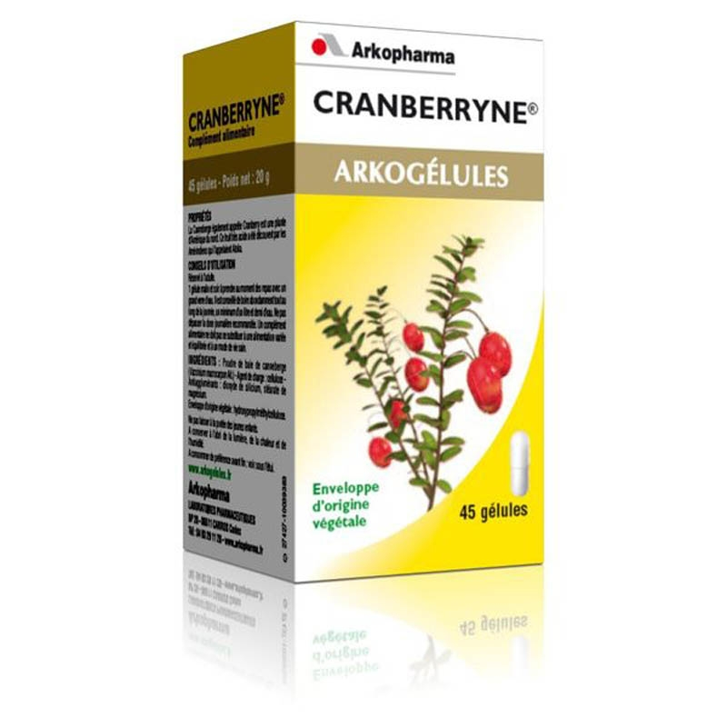 Achetez ARKOGELULES Cranberryne Gélule Flacon de 150