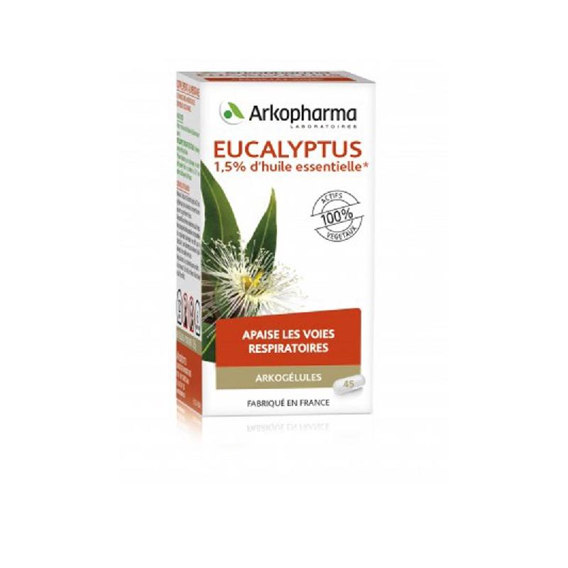 Achetez ARKOGELULES Eucalyptus Gélule Flacon de 45