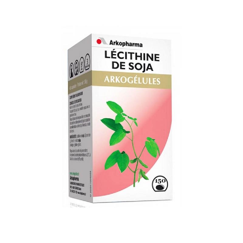 Achetez ARKOGELULES Lécithine de soja Capsule Flacon de 150