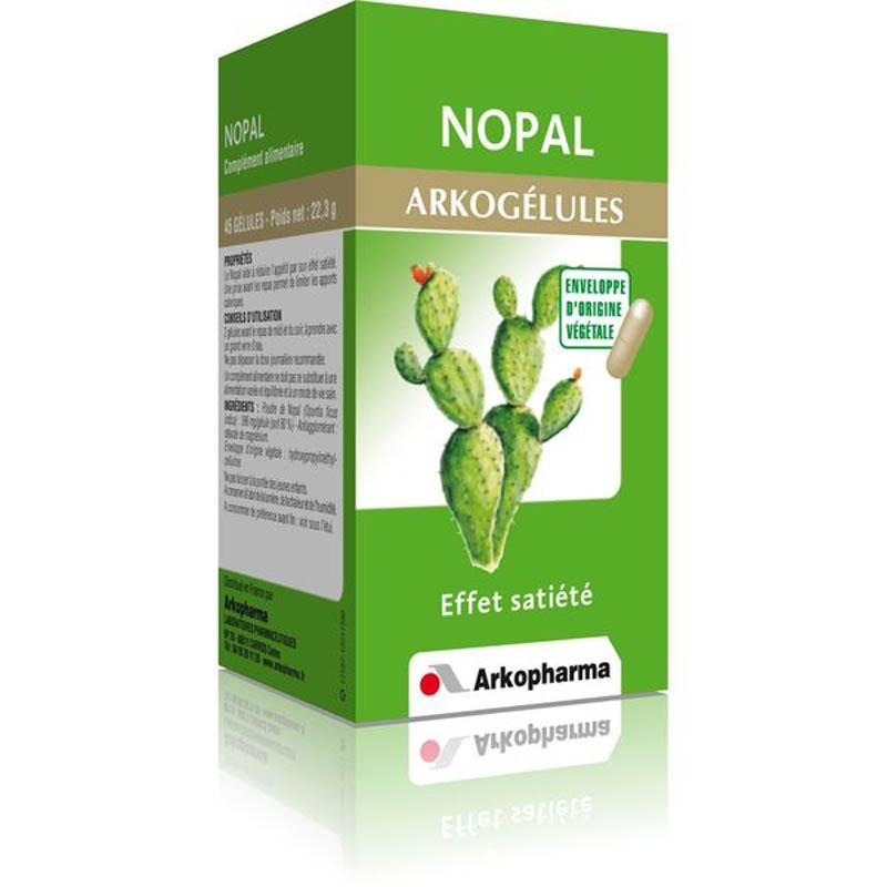 Achetez ARKOGELULES Nopal Gélule Flacon de 45