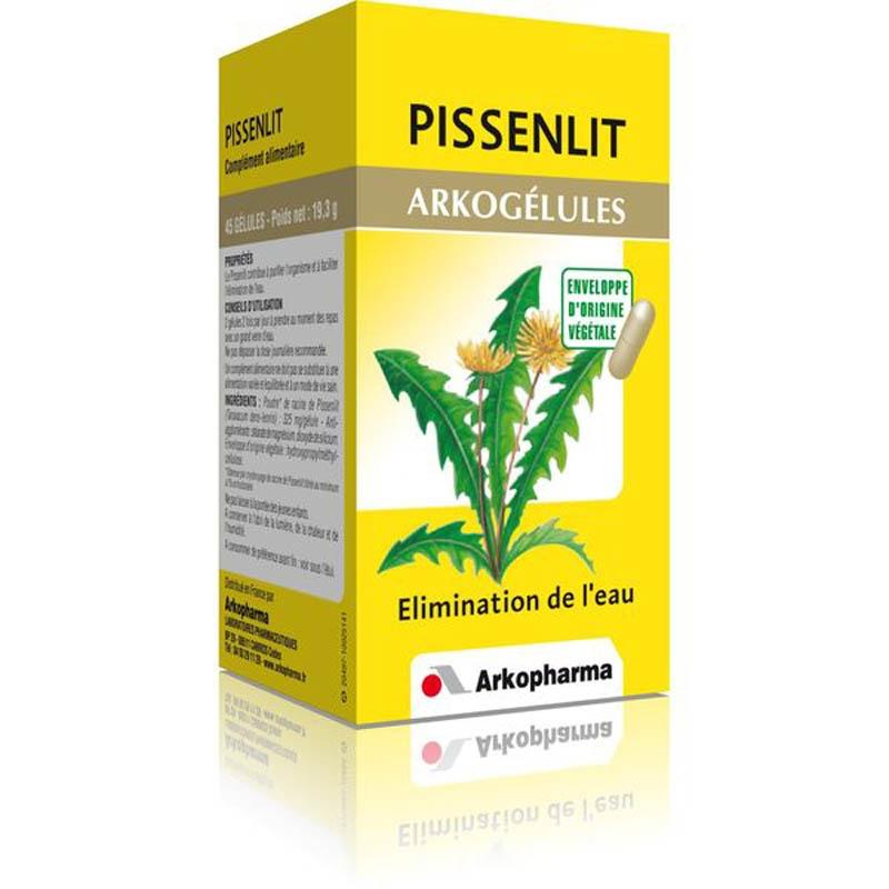 Achetez ARKOGELULES Pissenlit Gélule Flacon de 45