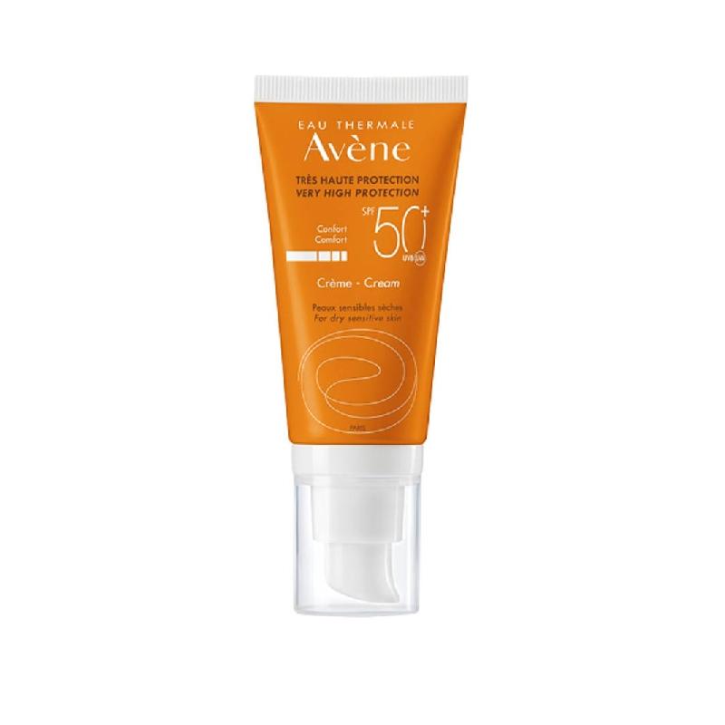Achetez AVENE SOLAIRE SPF50+ Crème très haute protection Tube de 50ml