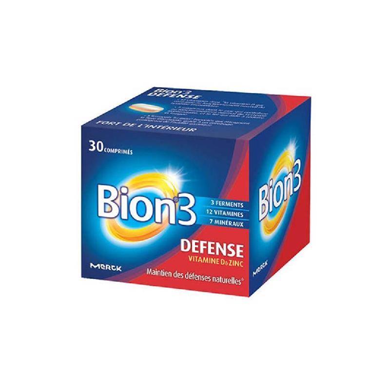 Achetez BION 3 DEFENSE ADULTE Comprimé Boîte de 30