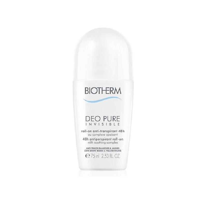 Achetez BIOTHERM DEO PURE INVISIBLE 48H Déodorant Roll-on de 75ml