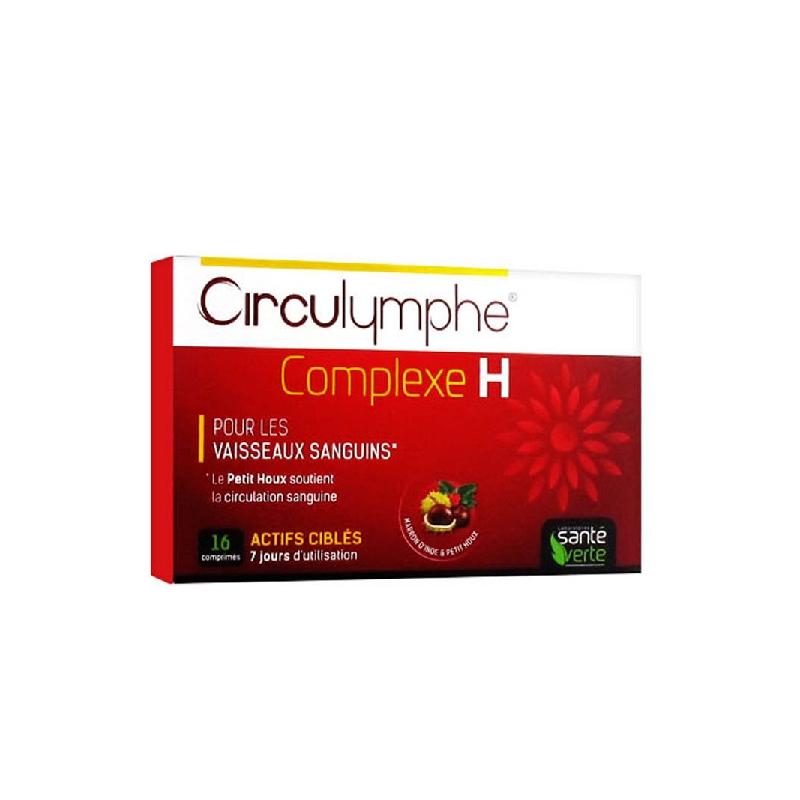 Achetez CIRCULYMPHE COMPLEXE H Comprimé Boîte de 16