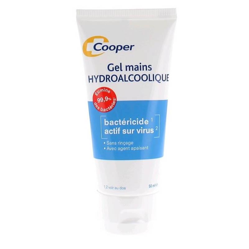 COOPER Gel hydroalcoolique OMS Tube de 50ml