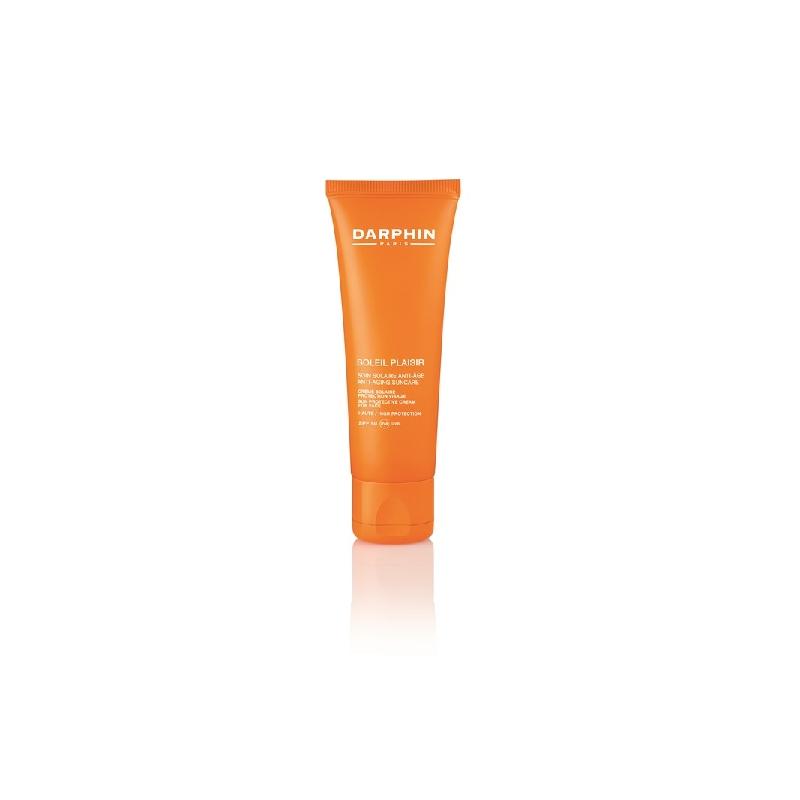 Achetez DARPHIN SOLEIL PLAISIR SPF50 Crème soin solaire anti-âge visage Tube de 50ml