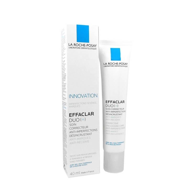 Achetez EFFACLAR DUO + LA ROCHE POSAY Crème soin anti-imperfections marques récidive Tube de 40ml