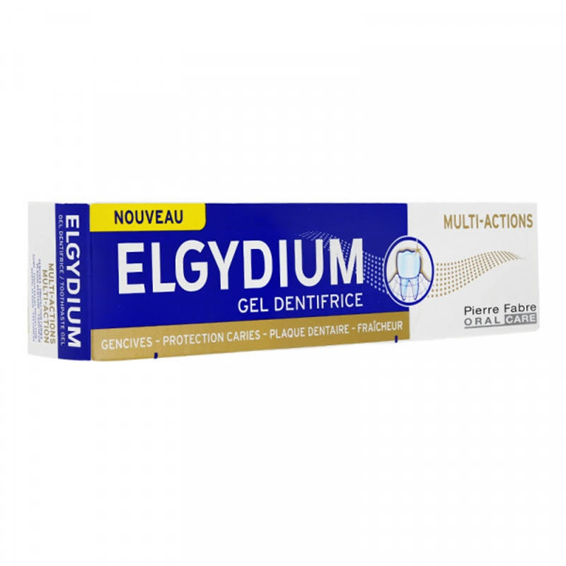 Achetez ELGYDIUM MULTI-ACTIONS Pâte dentifrice Tube de 75ml