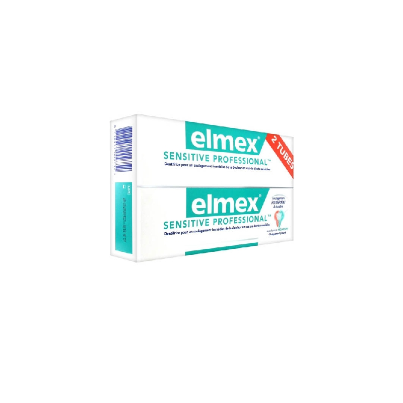 Achetez ELMEX SENSITIVE PROFESSIONAL Pâte dentifrice 2 Tube de 75ml
