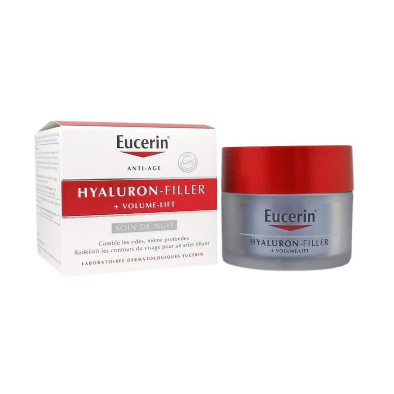 Achetez EUCERIN HYALURON-FILLER + VOLUME LIFT Emulsion soin nuit Pot de 50ml