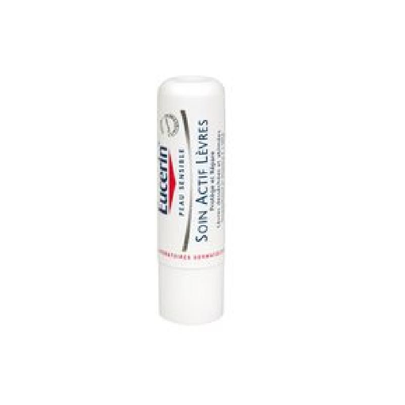 Achetez EUCERIN PEAU SENSIBLE Baume soin actif lèvres Stick de 4,8g
