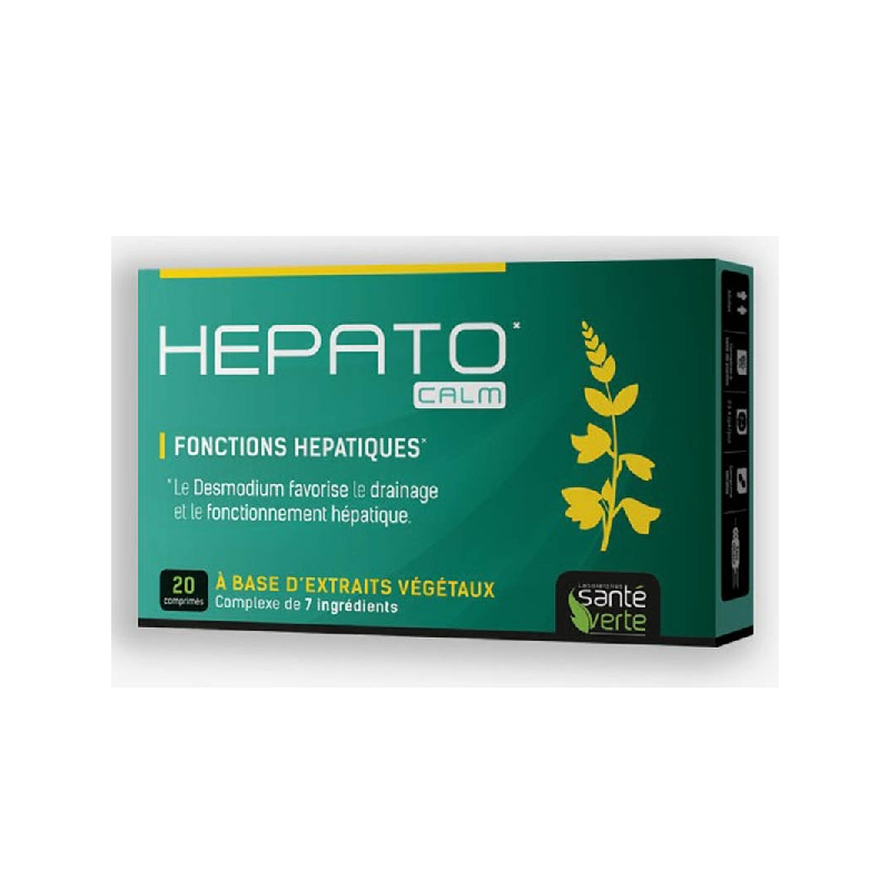 Achetez HEPATOCALM Comprimé Boîte de 20