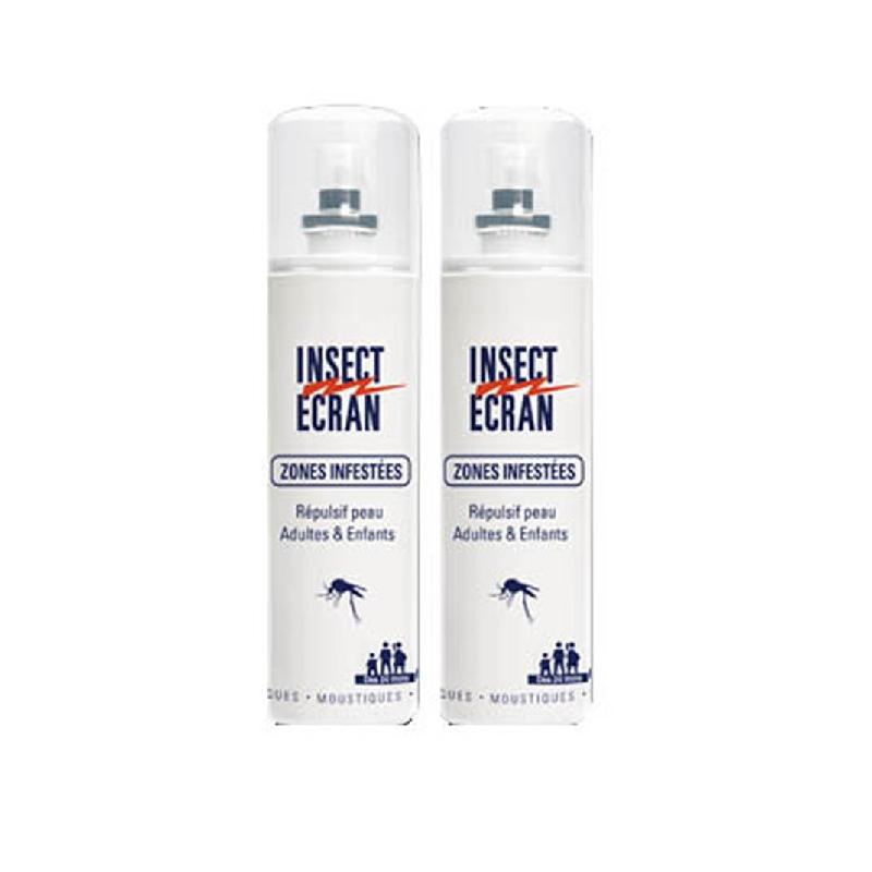 Achetez INSECT ECRAN ZONES INFESTEES Lot 2 Sprays de 100ml