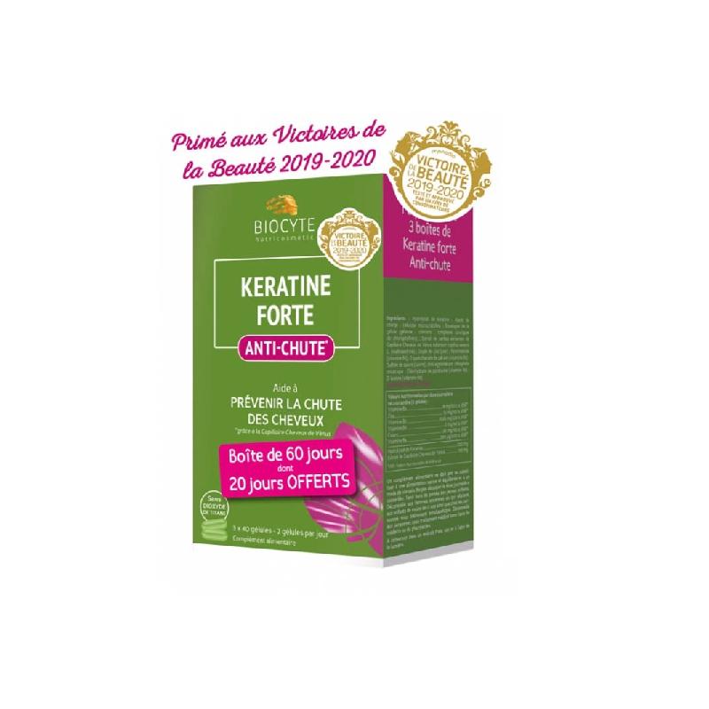 Achetez KERATINE FORTE ANTI-CHUTE Gélule Boîte de 120