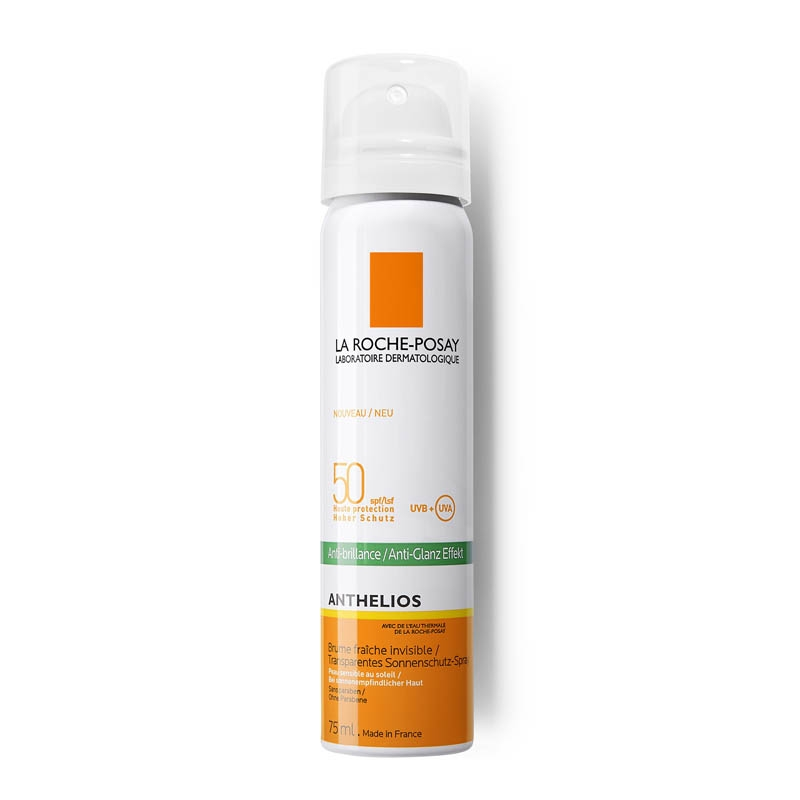 Achetez LA ROCHE-POSAY ANTHELIOS SPF50+ Brume fraîche anti-brillance visage avec parfum Aérosol de 75ml