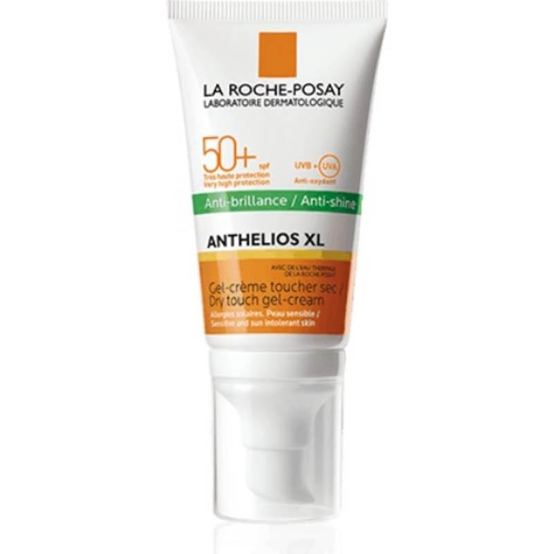 Achetez LA ROCHE-POSAY ANTHELIOS SPF50+ Gel crème anti-brillance visage avec parfum Tube de 50ml