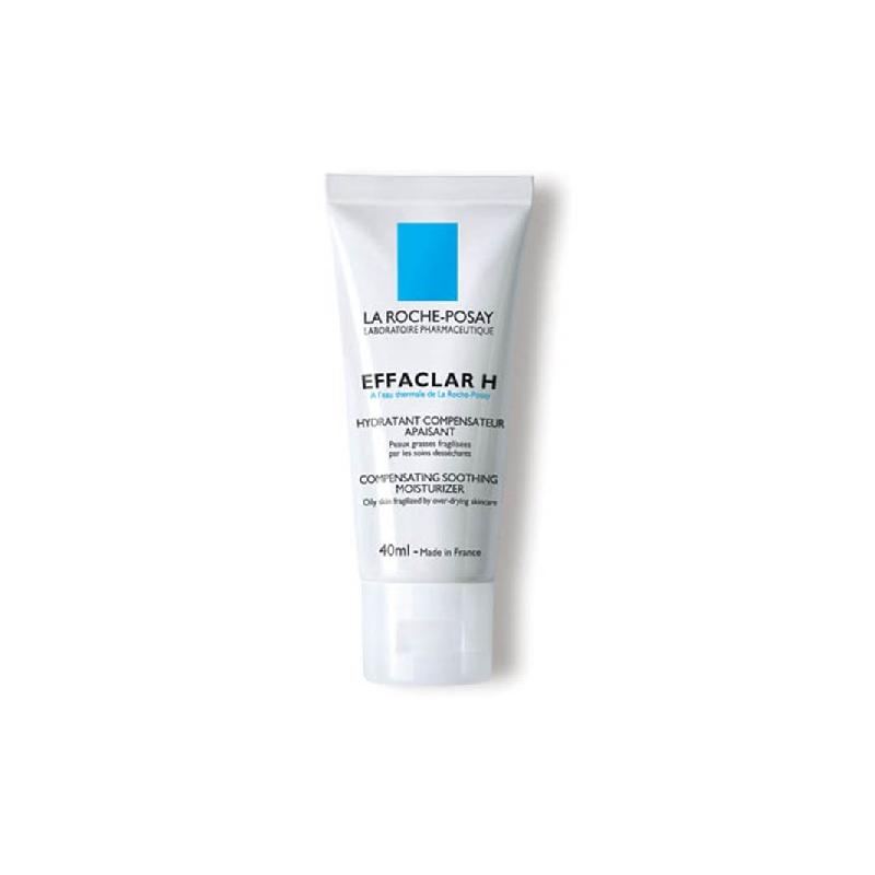 Achetez LA ROCHE-POSAY EFFACLAR H Crème hydratante apaisante multi-compensatrice Tube de 40ml