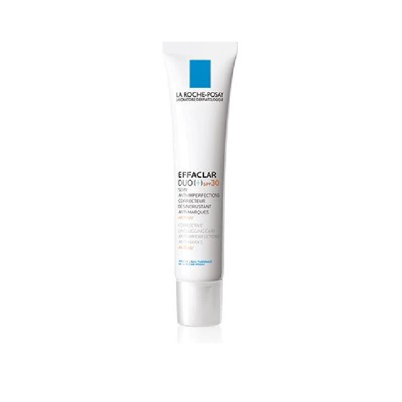 Achetez LA ROCHE-POSAY EFFACLAR DUO + SPF30 Crème soin anti-imperfections marques récidive UV Tube de 40ml