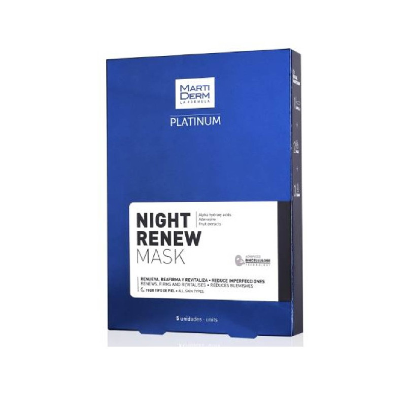 Achetez MARTIDERM MASQUE NIGHT RENEW 5 X 25
