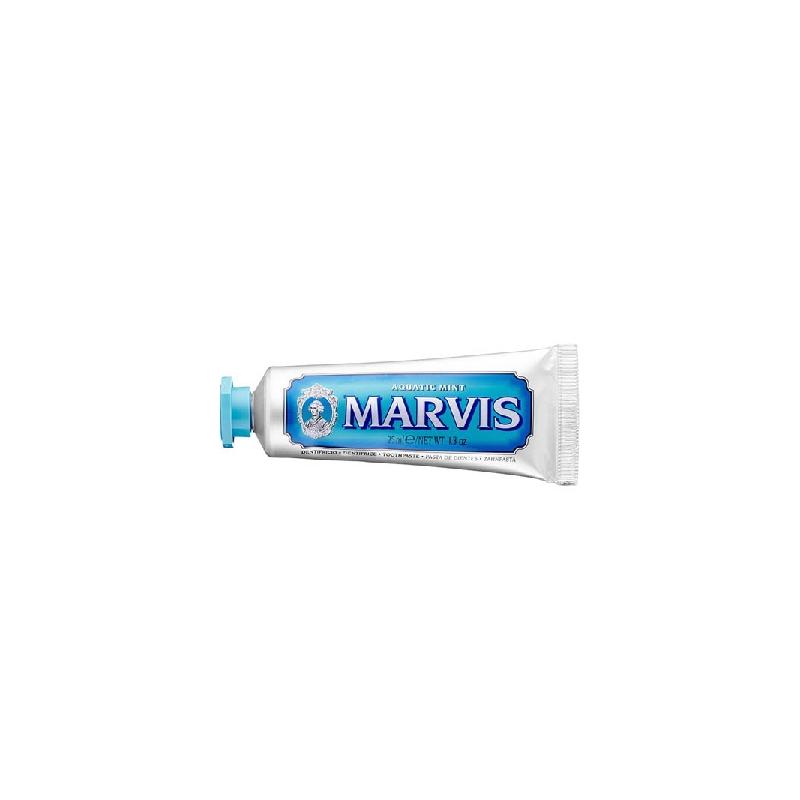 Achetez MARVIS BLEU Pâte dentifrice menthe aquatic Tube de 25ml