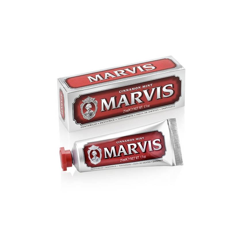 Achetez MARVIS ROUGE Pâte dentifrice menthe cannelle Tube de 25ml