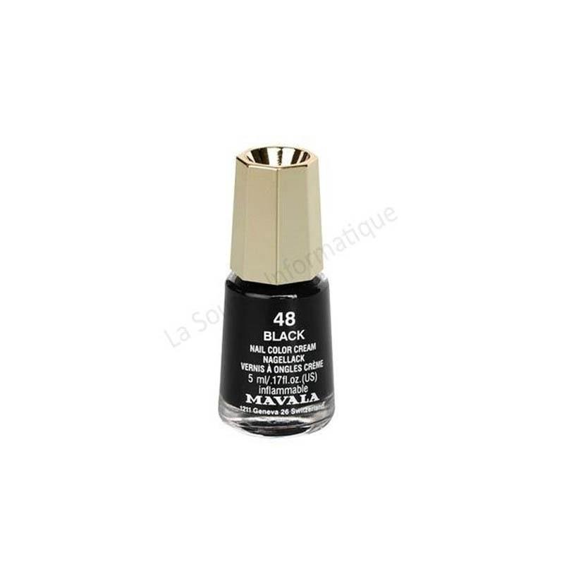 Achetez MAVALA Vernis à ongles black mini Flacon de 5ml