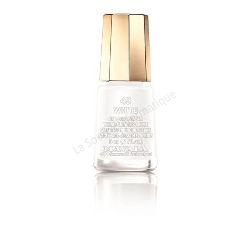 Achetez MAVALA Vernis à ongles white mini Flacon de 5ml