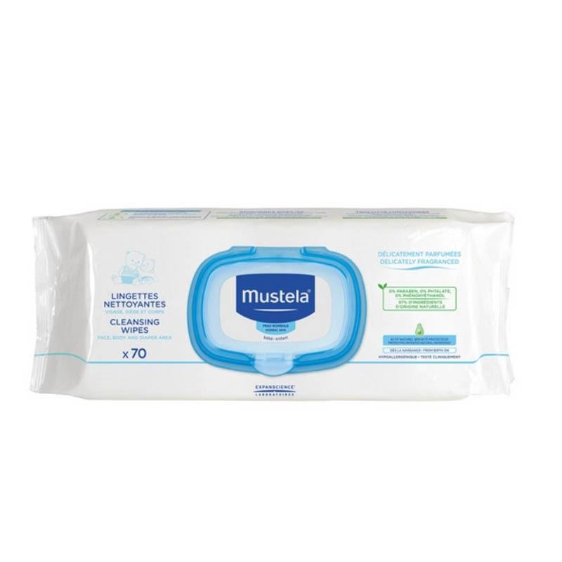 Achetez MUSTELA BEBE ENFANT Lingette nettoyante parfumée Dévidoir de 70