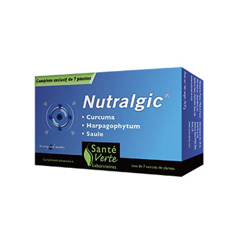 Achetez NUTRALGIC Comprimé inflammations Boîte de 10