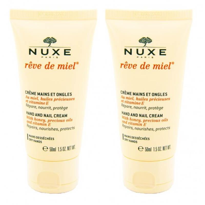 Achetez NUXE REVE DE MIEL Crème mains ongles 2 Tube de 50ml