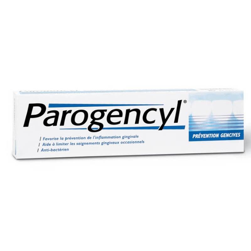 Achetez PAROGENCYL Pâte dentifrice menthe prévention gencives Tube de 75ml