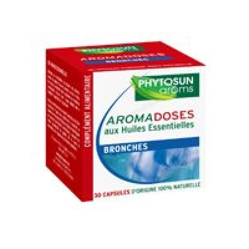 Achetez PHYTOSUN AROMS AROMADOSES Capsule molle bronches Etui de 30
