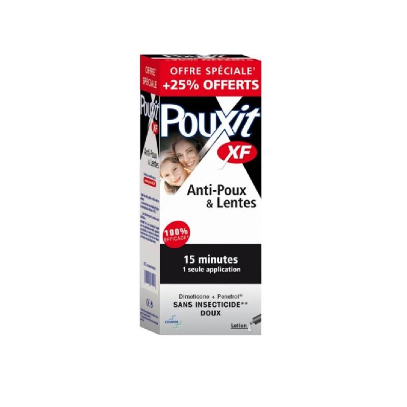 POUXIT XF EXTRA FORT Lot antipoux Flacon de 250ml