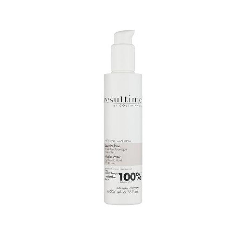 Achetez RESULTIME Eau micellaire Acide hyaluronique visage et yeux flacon 200 ml