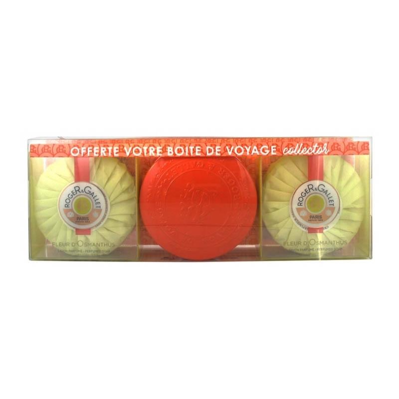 Achetez ROGER GALLET FLEUR D'OSMANTHUS Savon frais Coffret *2+collector