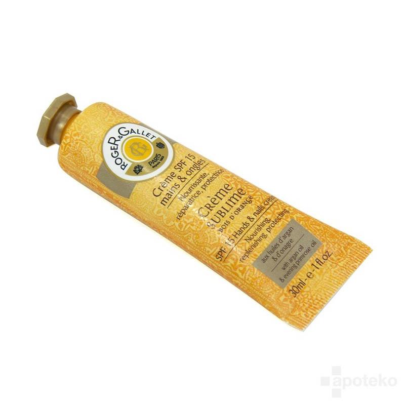Achetez ROGER GALLET SUBLIME BOIS D'ORANGE Crème mains Tube de 30ml