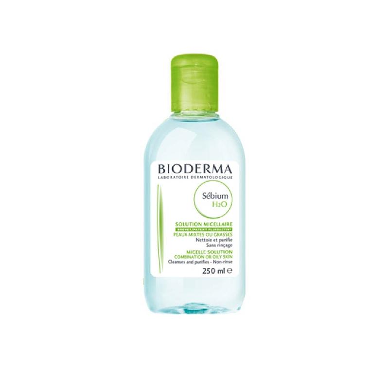 Achetez SEBIUM H2O Eau micellaire sans Savon nettoyante peau grasse Flacon de 100ml