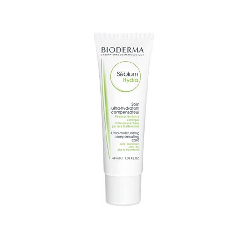 Achetez SEBIUM HYDRA Crème hydratante compensatrice peau grasse Tube de 40ml