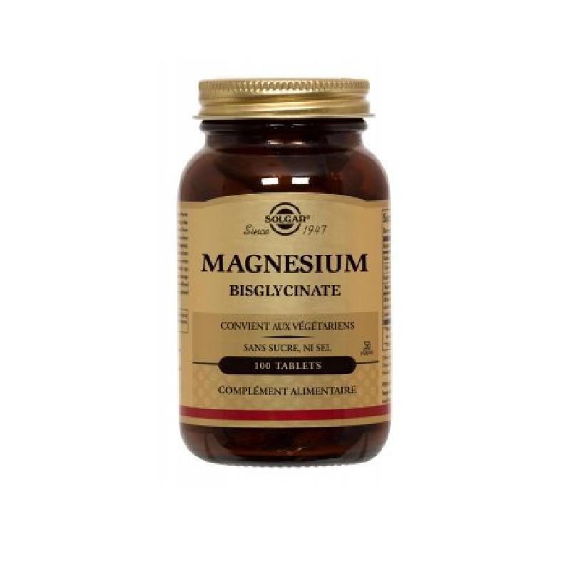 Achetez SOLGAR Magnésium Bisglycinate Tablette Pot de 100