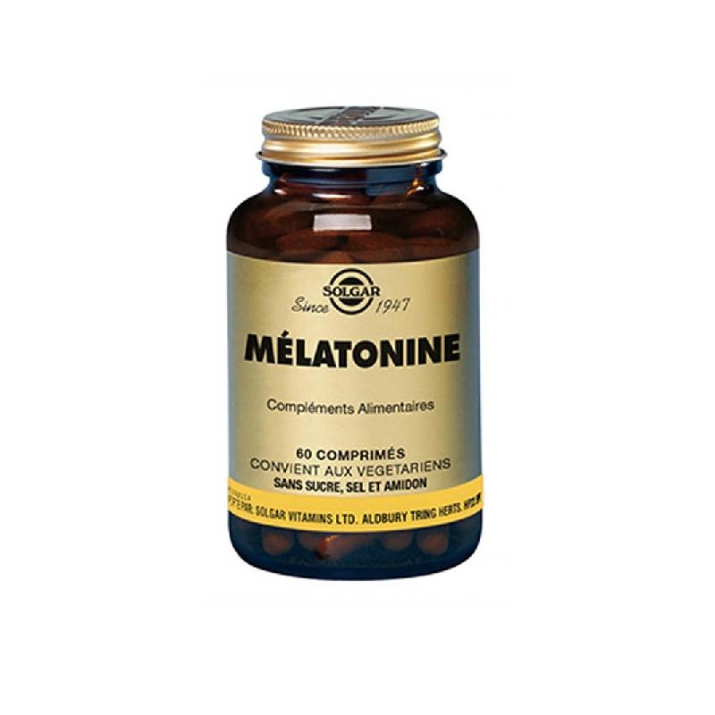 Achetez SOLGAR Mélatonine 2 mg Comprimé Pot de 60