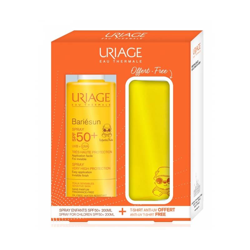 Achetez URIAGE BARIÉSUNS SPRAY SPF50+ 200ML/Flacon + T-SHIRT