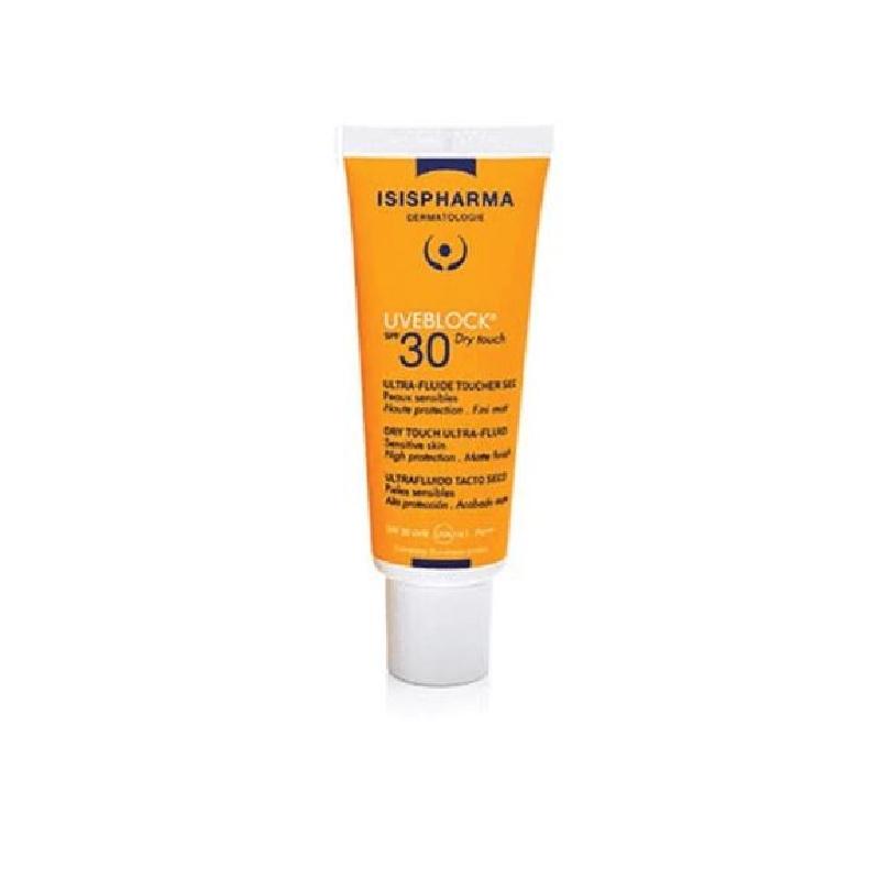Achetez UVEBLOCK SPF30 Fluide ultra toucher sec haute protection Tube de 40ml