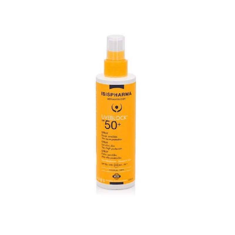 Achetez UVEBLOCK SPF50+ Spray très haute protection Flacon de 200ml