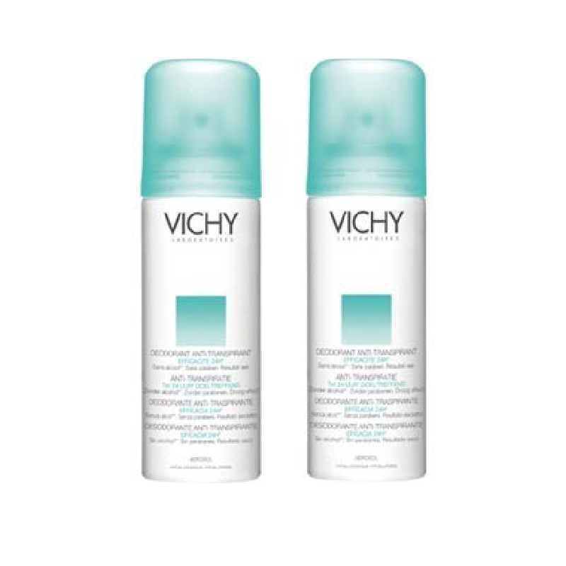 Achetez VICHY Déodorant anti-transpirant 2 Aérosol de 125ml